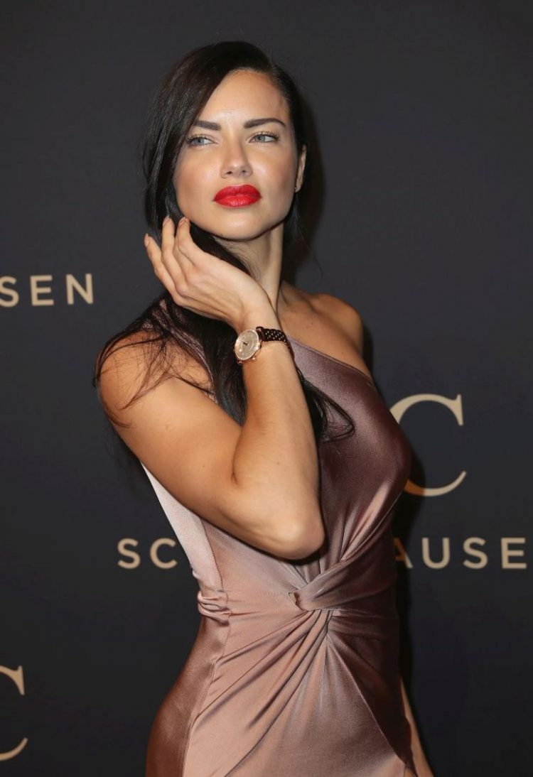 """GENEVA, SWITZERLAND - JANUARY 17:  Adriana Lima attends the IWC Schaffhausen """"Decoding the Beauty of Time"""" Gala Dinner during the launch of the Da Vinci Novelties from the Swiss luxury watch manufacturer IWC Schaffhausen at the Salon International de la Haute Horlogerie (SIHH) on January 17, 2017 in Geneva, .  (Photo by Chris Jackson/Getty Images for IWC)"""