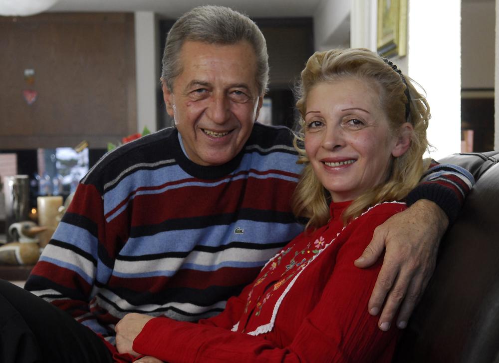 Image result for Miroslav Ilić sa svojom suprugom Gordano