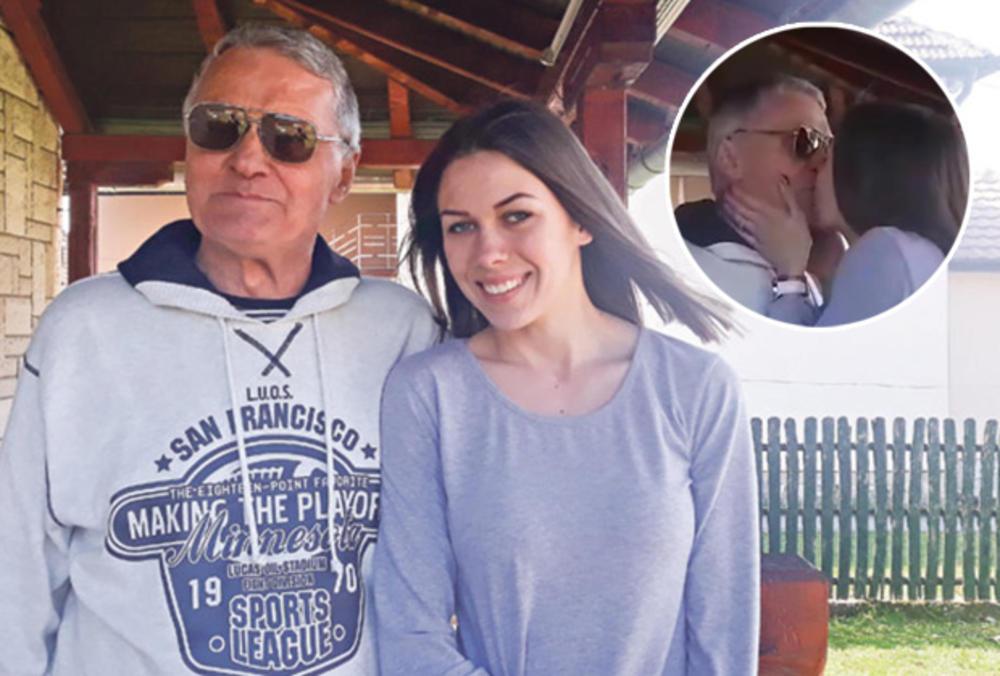 Image result for Miljana Bogdanović i njen 53 godine stariji Milojko B