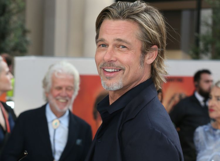 The UK Premiere of 'Once Upon a Time... in Hollywood' held at the Odeon Luxe, Leicester Square - Arrivals  Featuring: Brad Pitt Where: London, United Kingdom When: 30 Jul 2019 Credit: Mario Mitsis/WENN.com