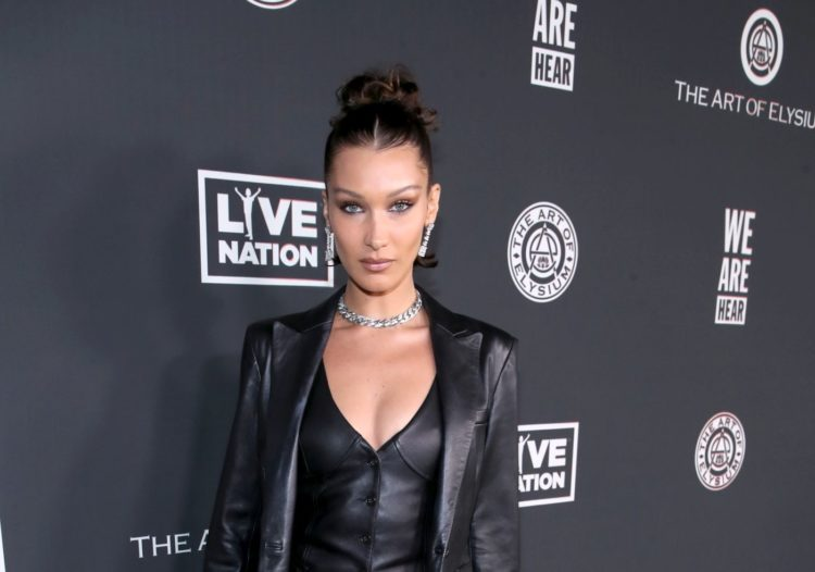LOS ANGELES, CALIFORNIA - JANUARY 04: Bella Hadid attends The Art Of Elysium Presents WE ARE HEAR'S HEAVEN 2020 at Hollywood Palladium on January 04, 2020 in Los Angeles, California. (Photo by Randy Shropshire/Getty Images  for The Art of Elysium)