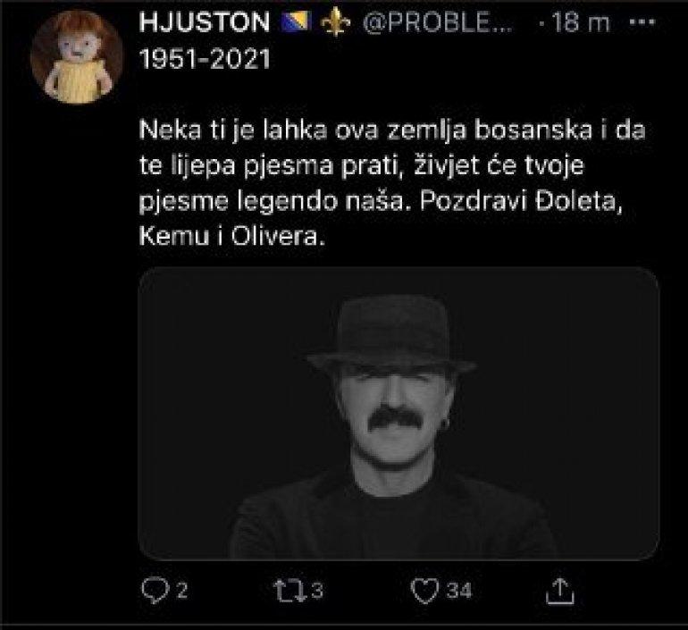 NESLANE ŠALE NA DRUŠTVENIM MREŽAMA: Ko sahranjuje Harisa Džinovića? -  Express